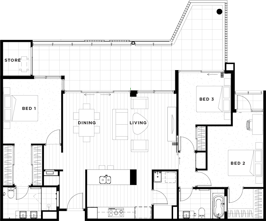 Apartment 09 Floorplan