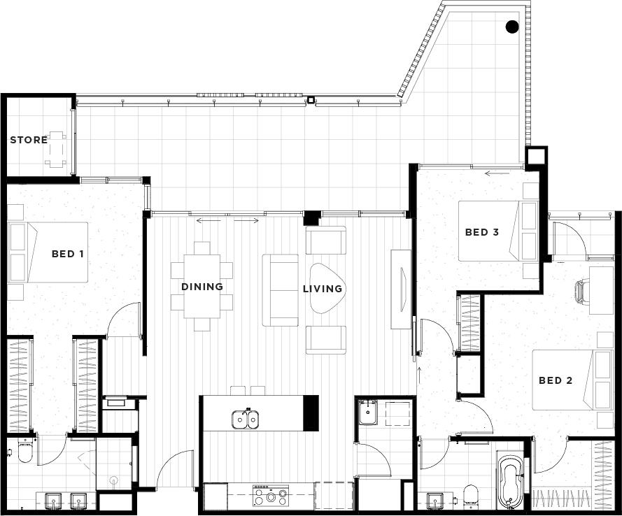 Apartment 17 Floorplan
