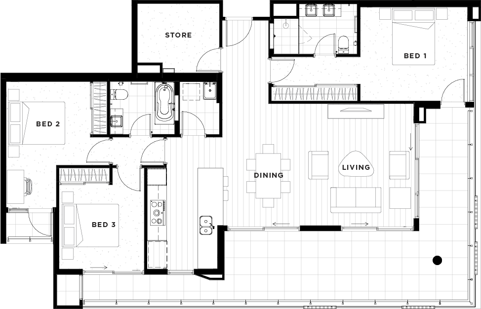Apartment 19 Floorplan