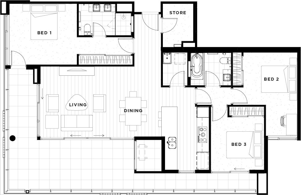 Apartment 22 Floorplan