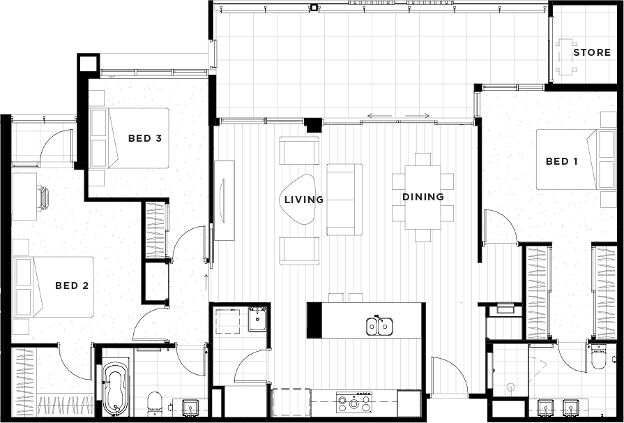 Apartment 32 Floorplan