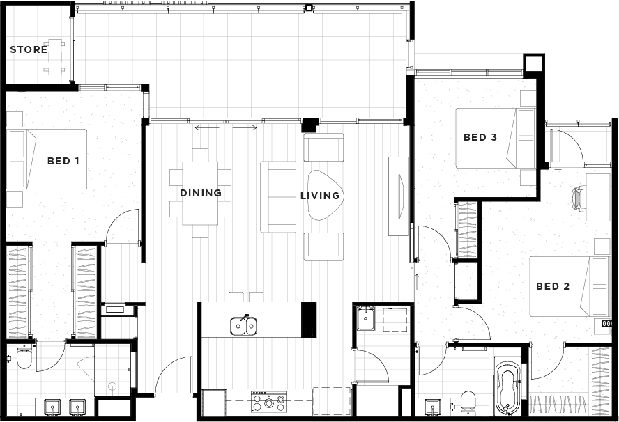 Apartment 33 Floorplan