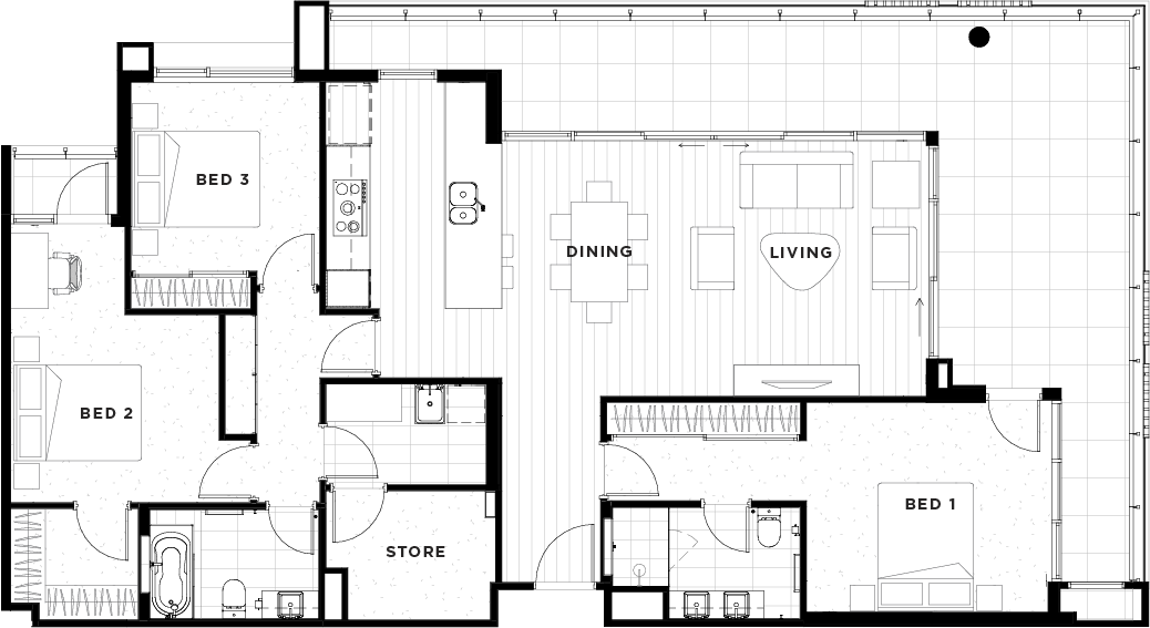 Apartment 42 Floorplan