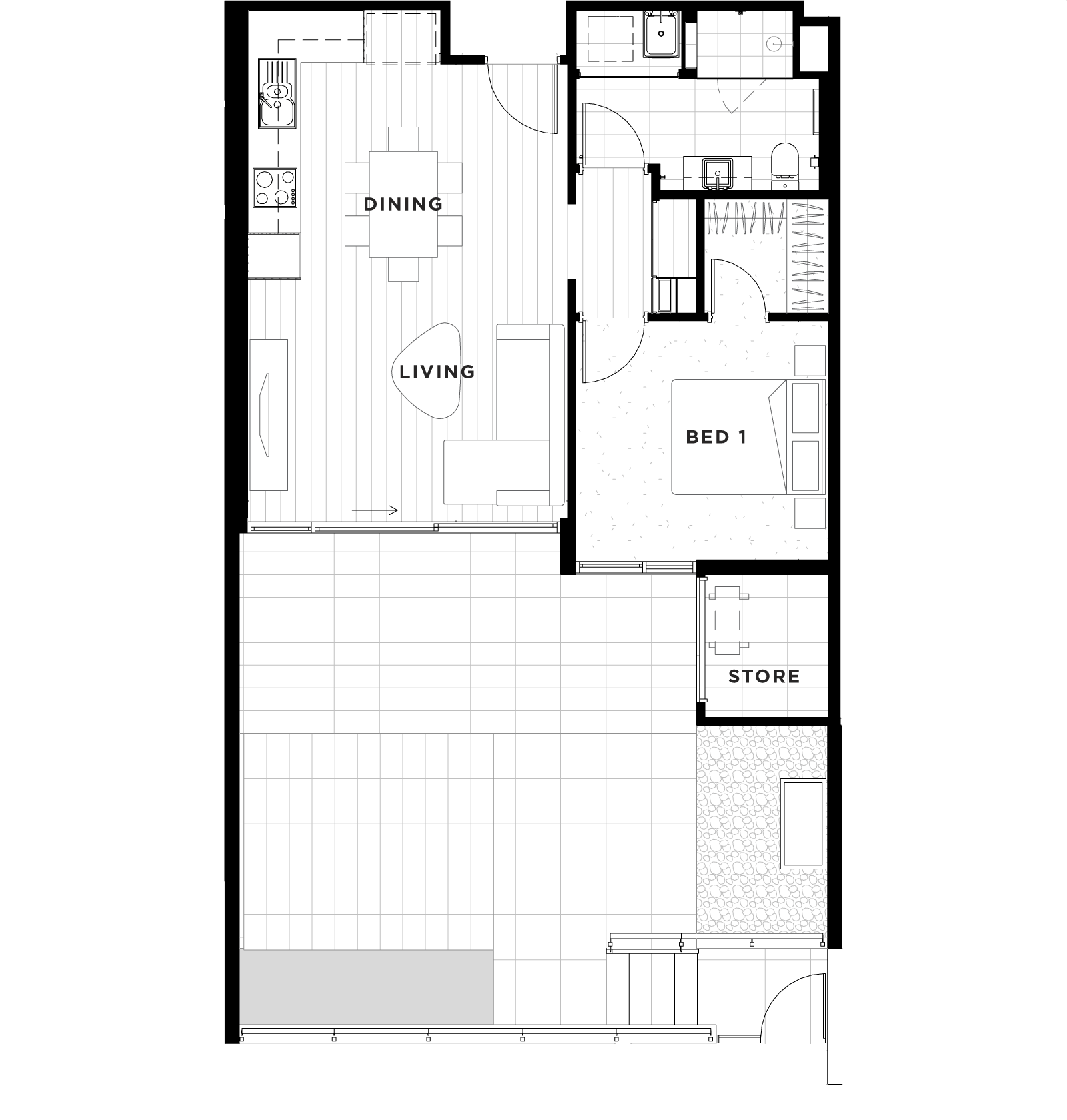 Apartment 06 Floorplan