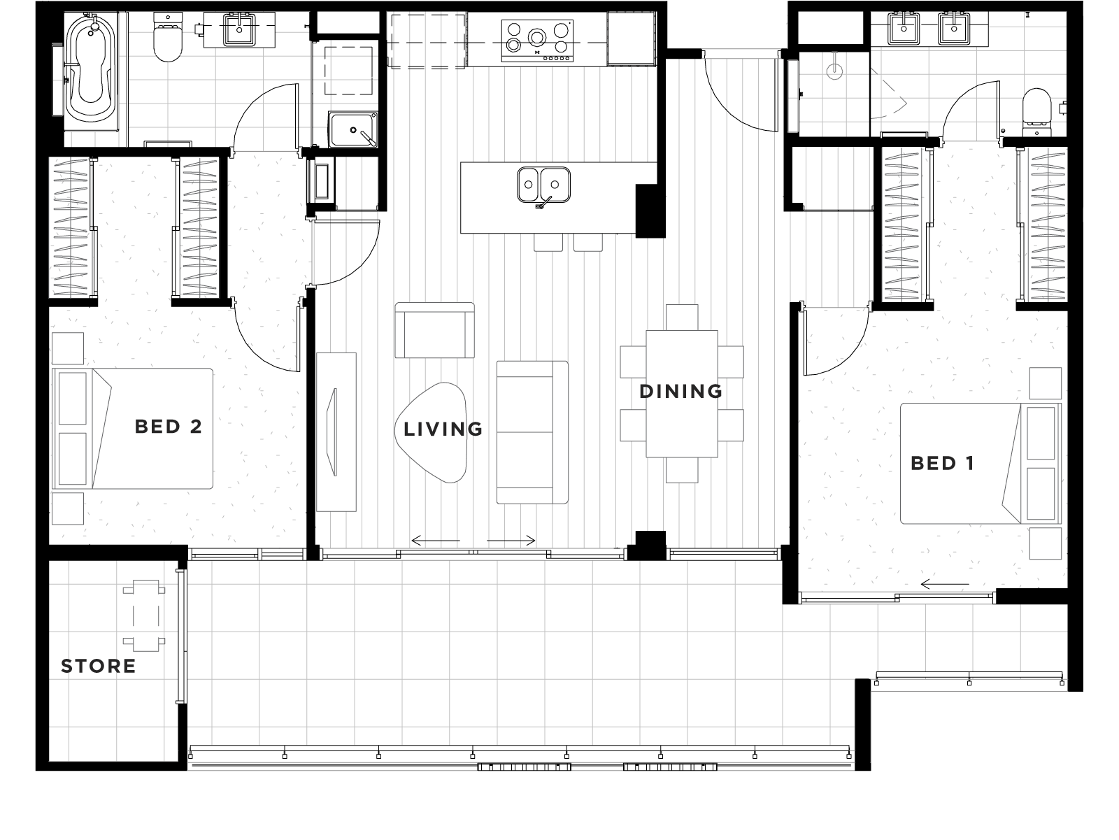 Apartment 20 Floorplan
