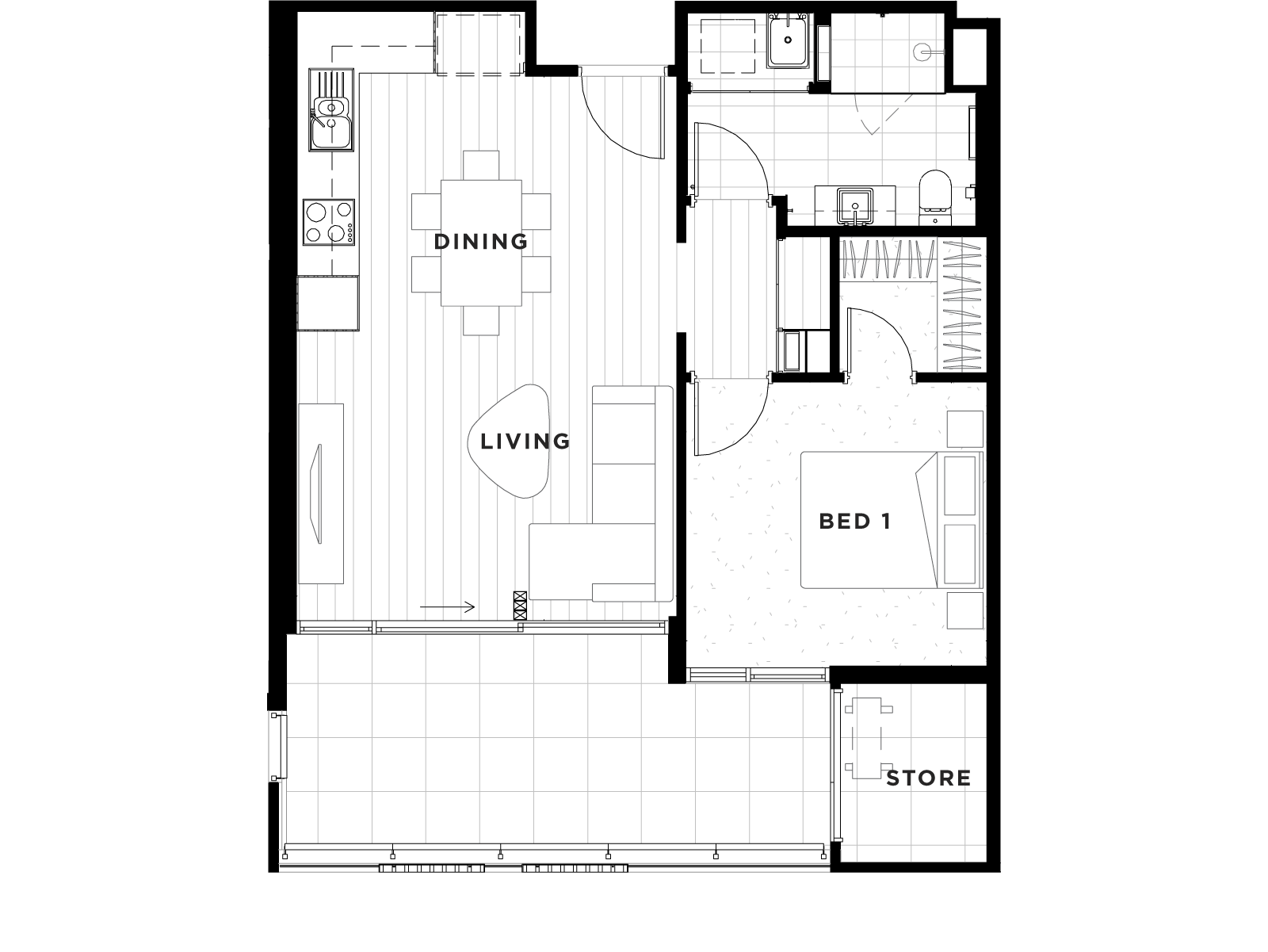 Apartment 29 Floorplan